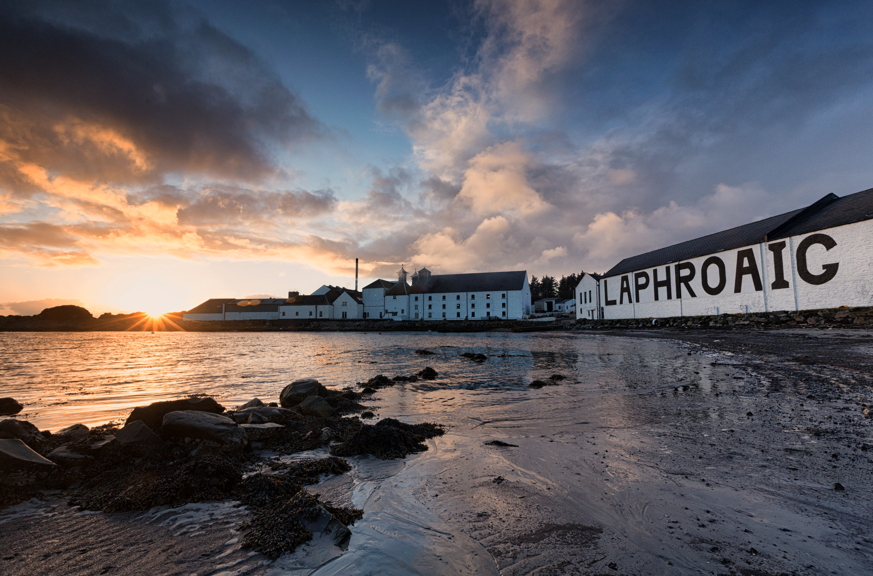 Laphroaig, Islay, Scotland.