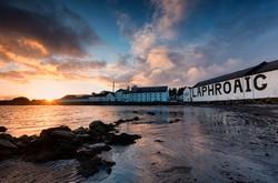 Laphroaig, Islay, Scotland.