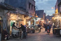 Street Scene, Marrakech, Morocco_