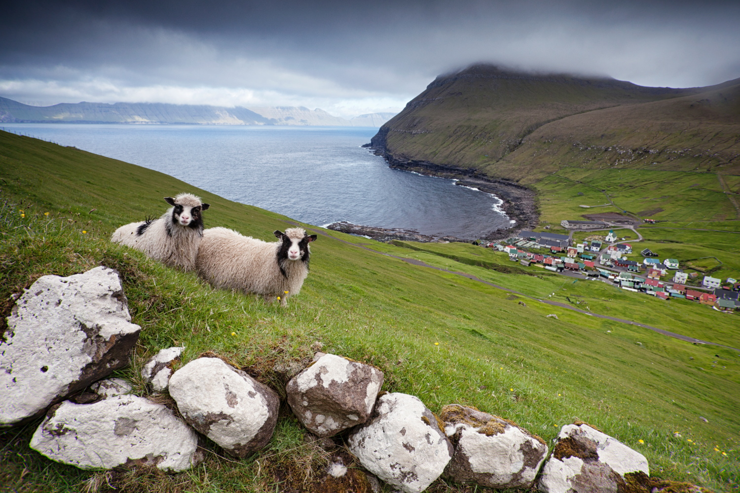 Gjogv, Faroe Islands_
