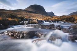 Allt a' Chumhaing, Wester Ross, Scotland_