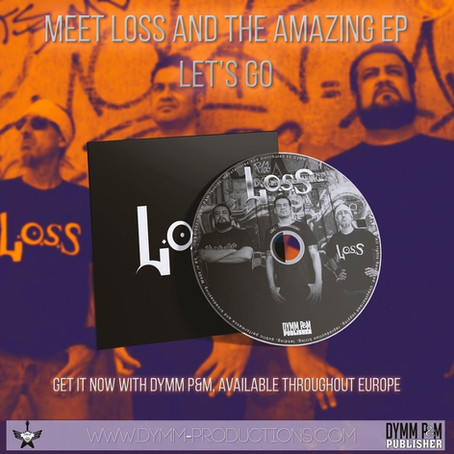 EP da banda Loss está disponível em formato físico na Europa e Estados Unidos