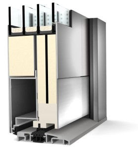 Porte d'entrée lille en aluminium, anti-effraction et isolante, porte de service lille