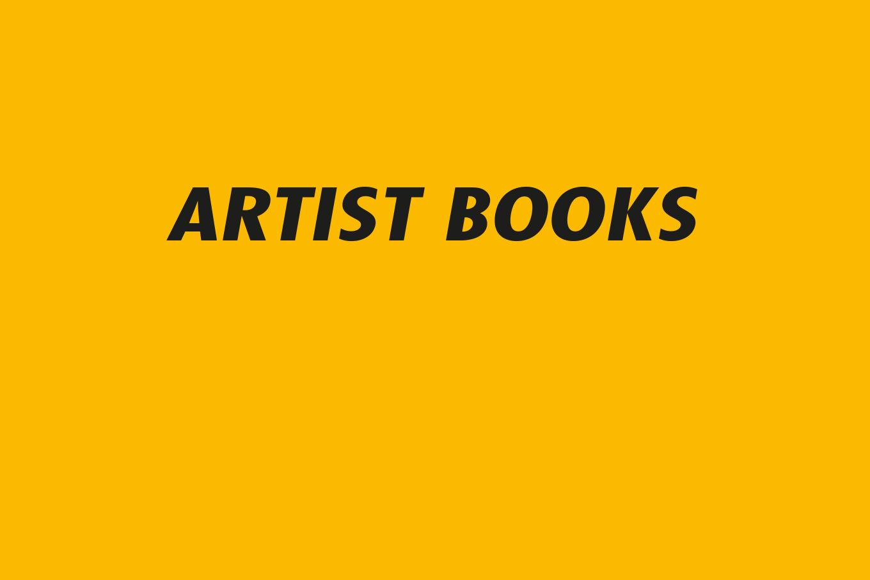 00 Artist books