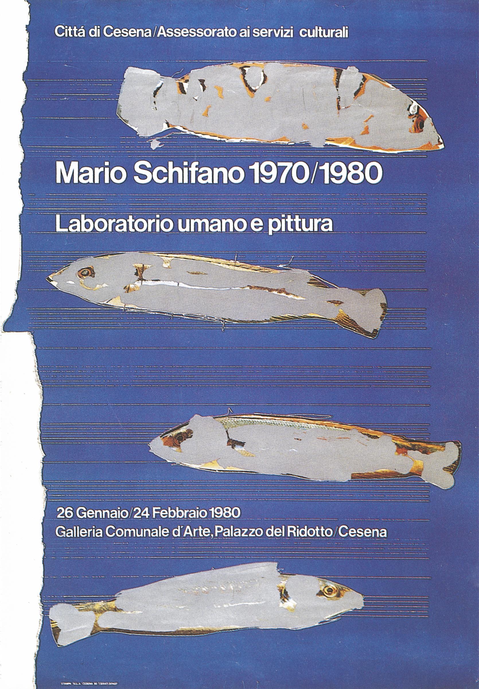 22 manifesto Mario Schifano