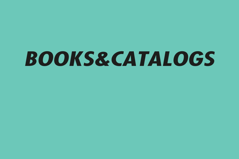 00 Books&catalogs