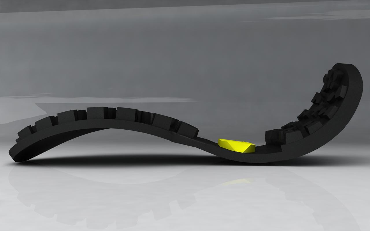 25 Chaise Longue Modello Vibram