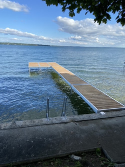 Beautiful addition to this waterfront