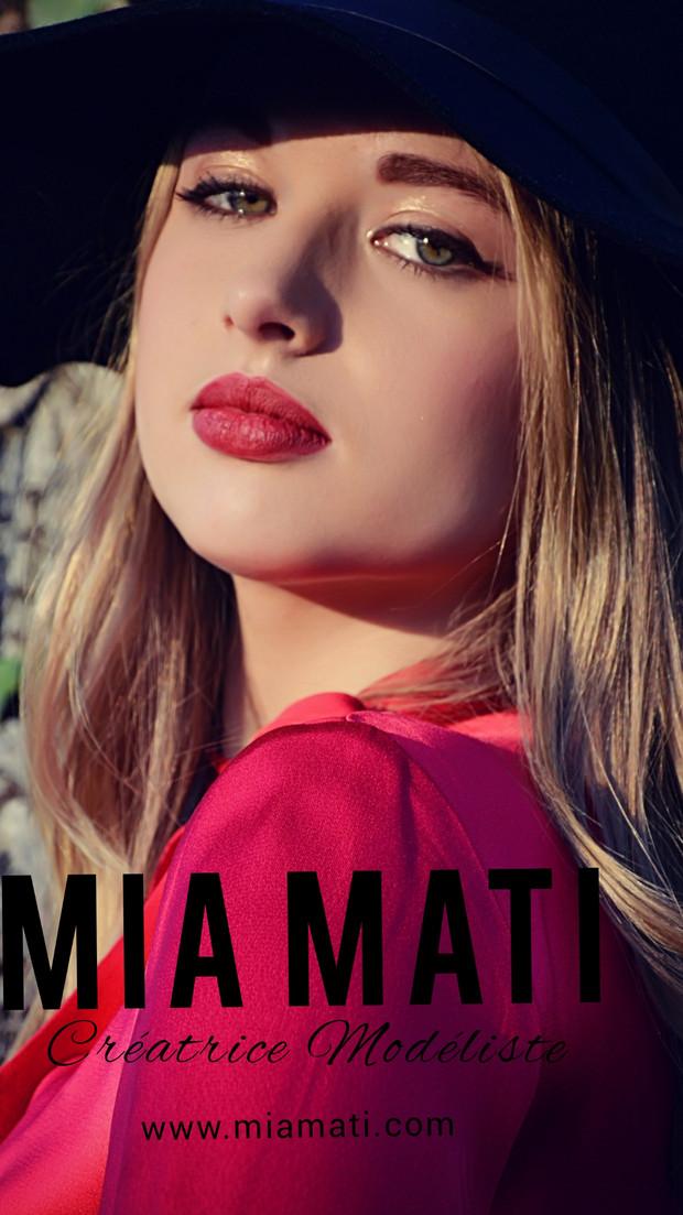 MIA MATI créatrice styliste modéliste couturière à Angers