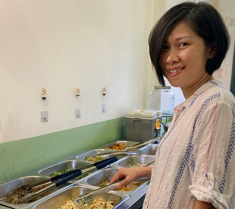 Duong, the owner of Vegan Home