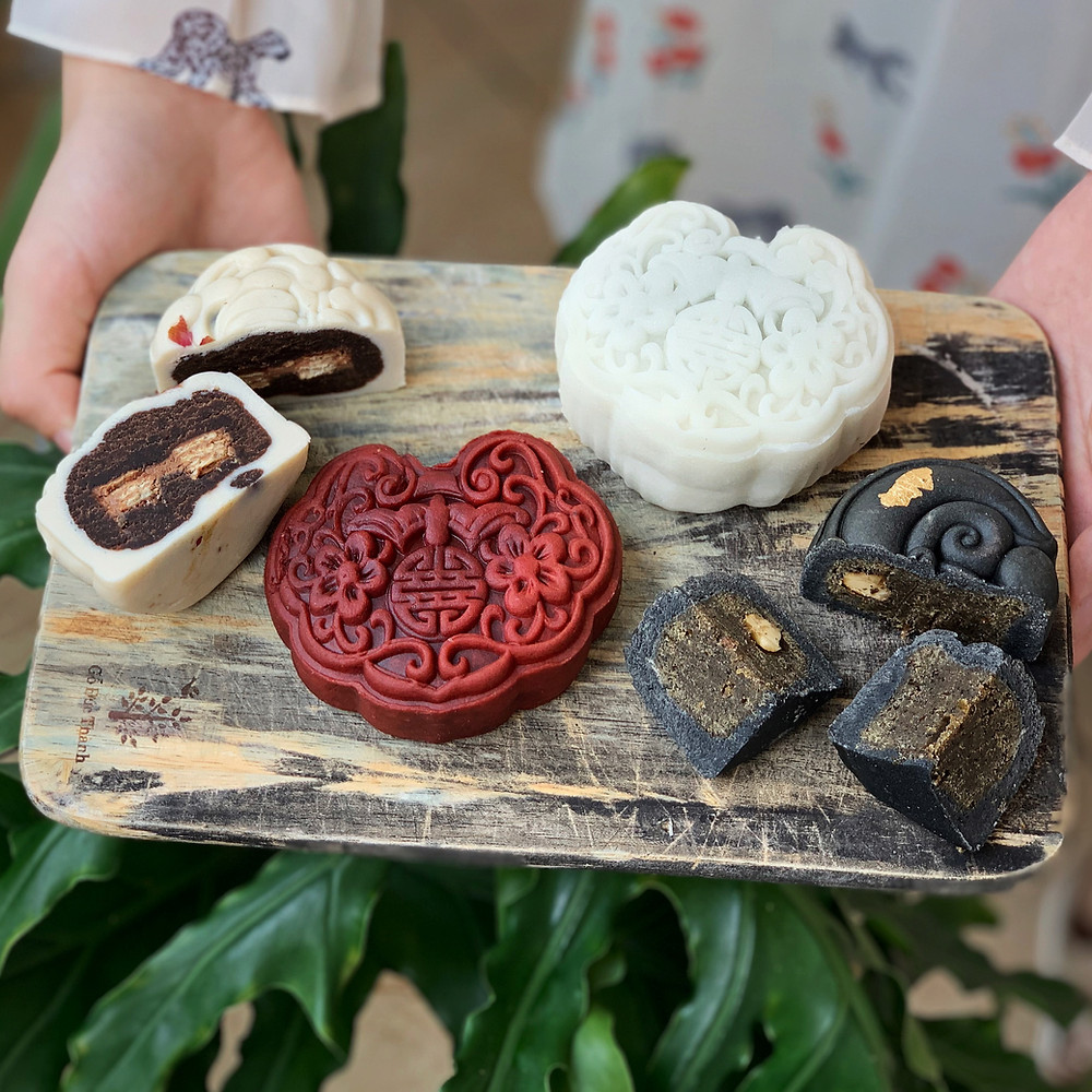 Mooncakes from The Vuu Cakes
