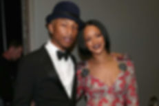RIHANNA IS WORKING ON NEW MUSIC WITH PHARRELL