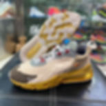 """A FIRST LOOK OF TRAVIS SCOTT x NIKE AIR MAX 270 REACT """"CACTUS JACK"""""""