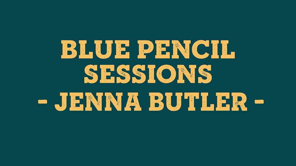 Blue Pencil Ticket