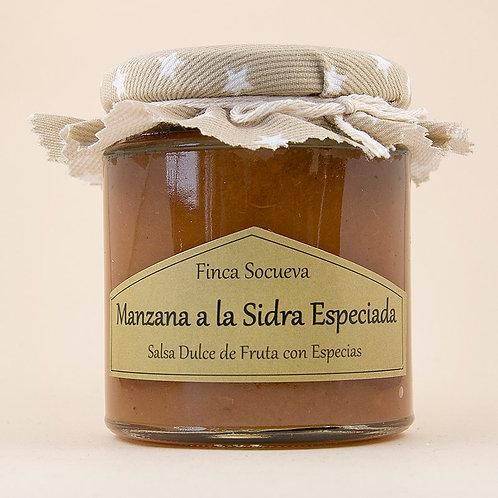 Salsa de Manzana a la Sidra Especiada