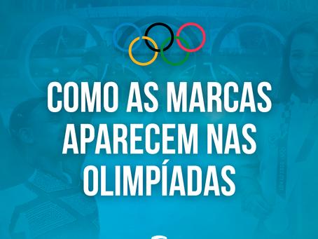 Como as marcas aparecem nas olimpíadas?