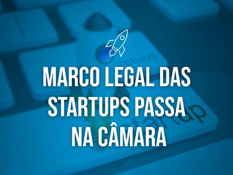 Marco Legal das startups passa na Câmara