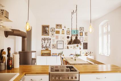 Offene Küche & Esszimmer