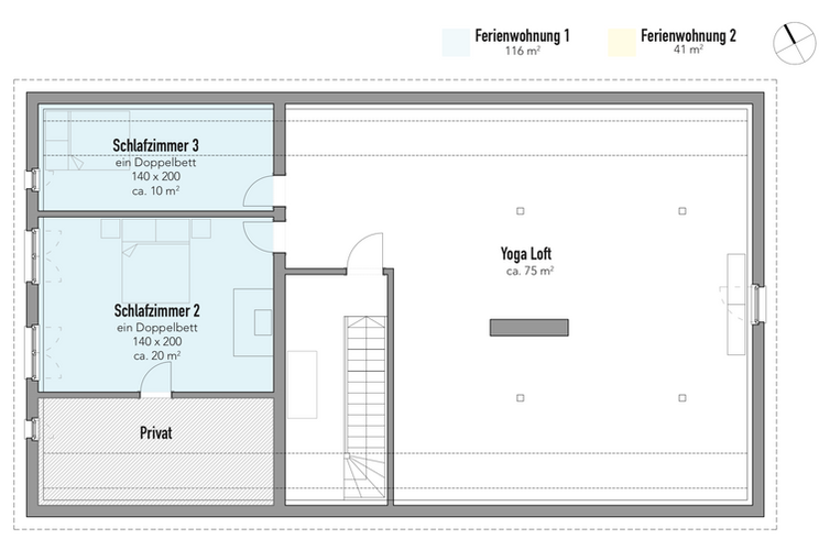 Grundriss Dach