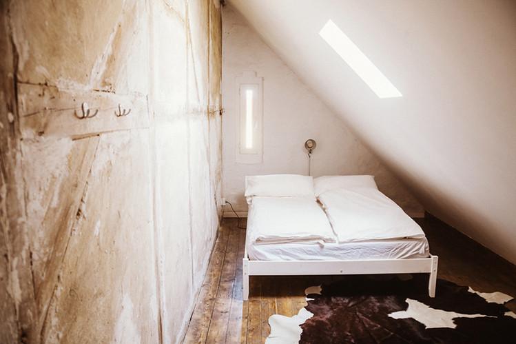 Kleines Schlafzimmer Dach