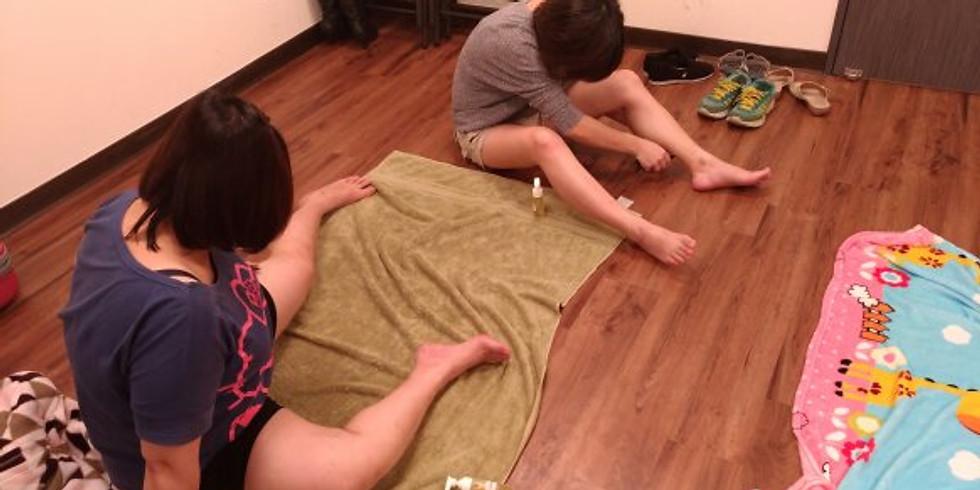 AFX3:鬆筋列車 - 優化腿部鬆筋工作坊 by Aromafunner 香砌學堂
