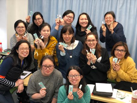 第一期NAHA美國芳療課程開學喇!