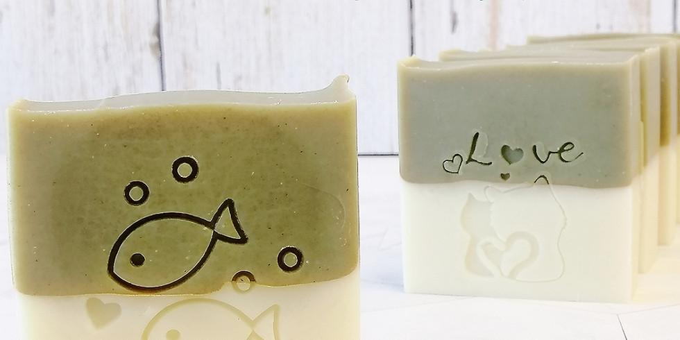 【2109-B2】製皂八陣圖二課程 - 酪梨滋潤雙色皂
