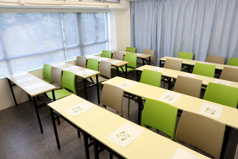 教室租用 - 平日 第一節及第二節