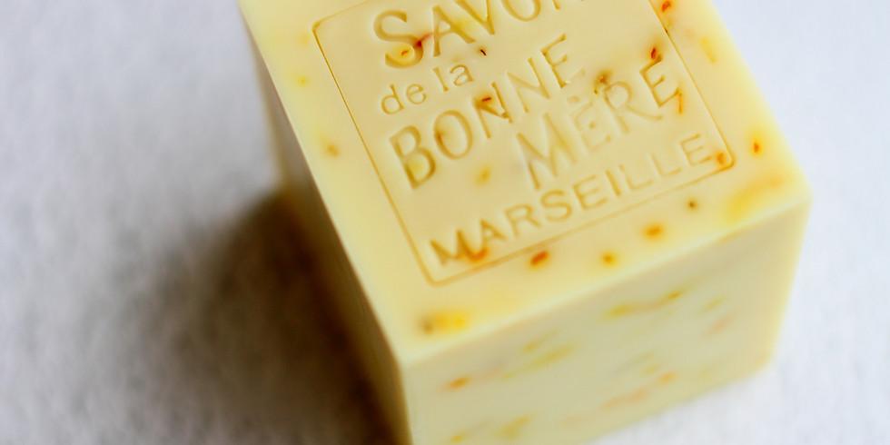 【19111-A5-WDE】製皂八陣圖一課程 - 金盞馬賽舒敏皂