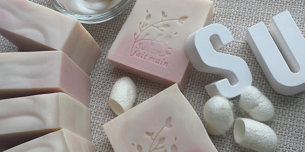 幼滑蠶絲沐浴洗面皂 工作坊 by Suzu Naturals