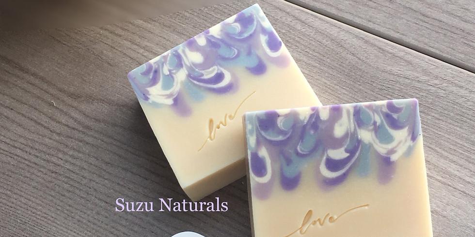 層層滴滋潤渲染皂工作坊 by Suzu Naturals