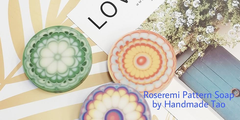 【210614 RA】ROSEREMI PATTERN SOAP萬花筒花磚皂一天導師證書課程 A班