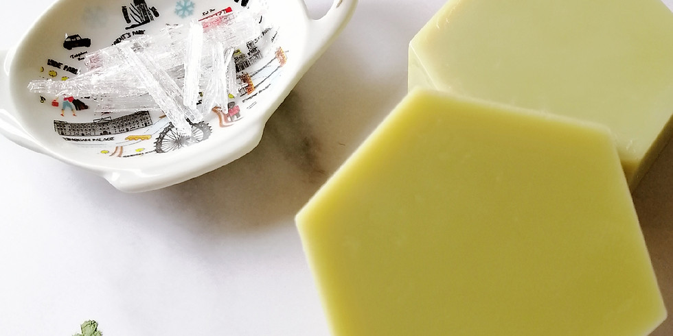 【210614】薄荷腦清涼綠茶皂+薄荷腦冰涼透明皂工作坊 by Apn