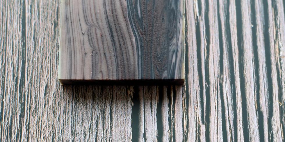 【2105-B3】製皂八陣圖二課程 - 仿真木紋渲染皂