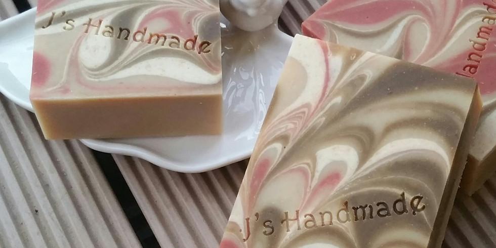 秋冬滋養皂班~橄欖乳木可可母乳皂工作坊 by J's Handmade