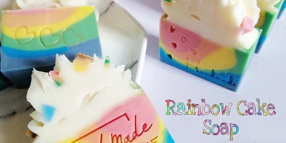 【211028】彩虹蛋糕皂工作坊by Apn (手工皂渲染皂S06)