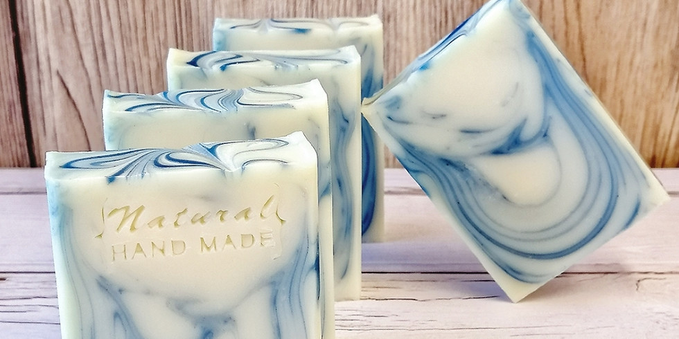 【2107-A8】製皂八陣圖一課程 - 青黛回鍋渲染皂