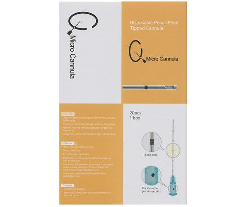 Q Micro Cannula ( Fat, Filler ) 20x Needles -FDA Listed