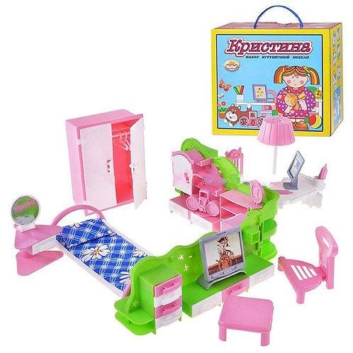 """Мебель в наборе """"Кристина"""", в коробке, 35*42*17 см"""