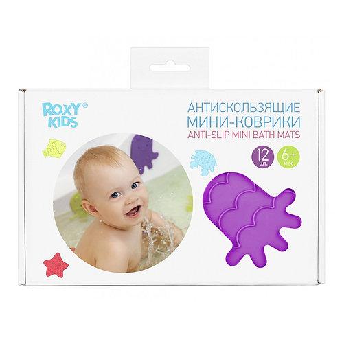Мини-коврики для ванны (в комплекте 12 шт.)
