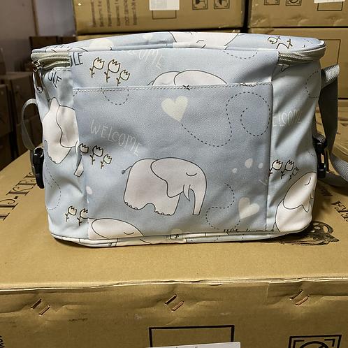 Сумка-органайзер на коляску, слоники
