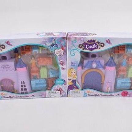 Замок для кукол с мебелью, в ассорт. в/к 31*5,3*22,5 см.