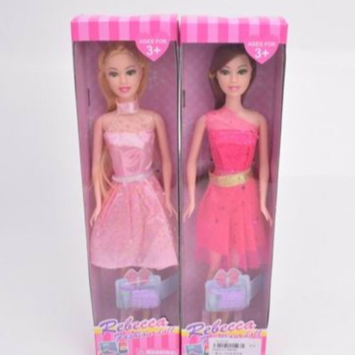 Кукла, в ассорт. в/к 8*4,5*32 см.