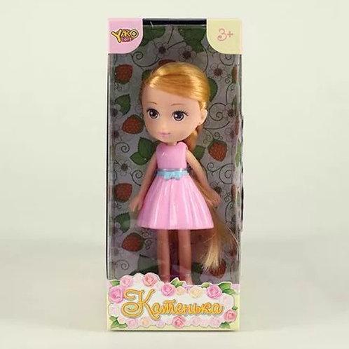 Кукла Катенька 16,5 см. в коробке