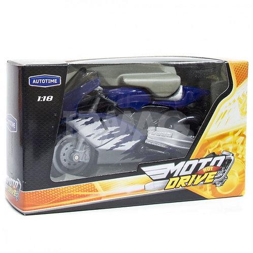 "Мотоцикл ""VIKING SNOWSTORM XZ"", масштаб 1:18, 14*4,5*8,3 см"
