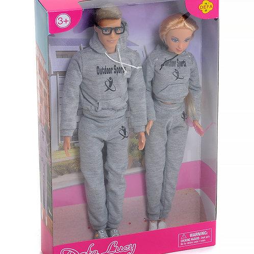 """Куклы """"Defa"""" в ассорт. в/к 20*5,5*32,5 см"""