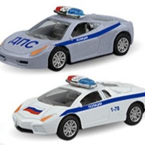"""Машинка """"SUPERCAR POLICE"""" полиция, ассортимент, 1:48"""