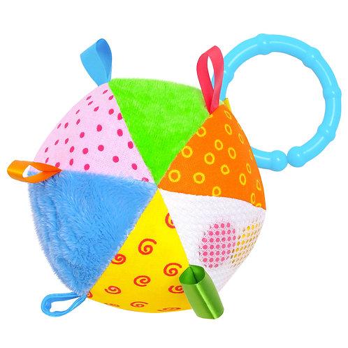 "Игрушка ""Мячик с петельками"", в пакете, 14*20*10 см"