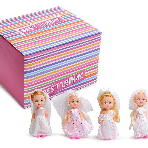 Кукла-невеста в/п в ассортименте 20*17*24 см