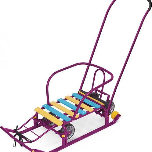 Санки Ника Тимка-5 Универсал, фиолетовый